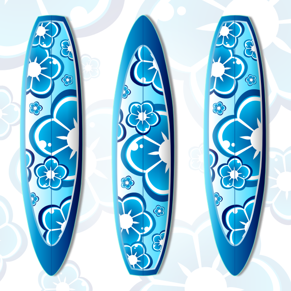 Surfboard vector illustration