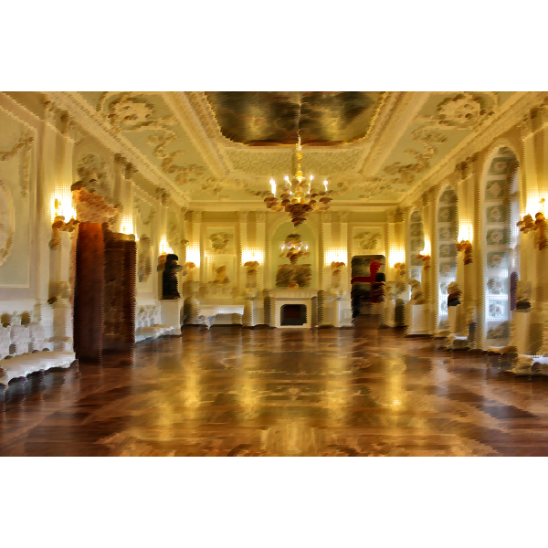 Surreal St Petersburg Palace Interior