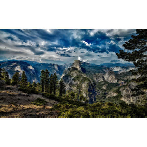 Surreal Yosemite