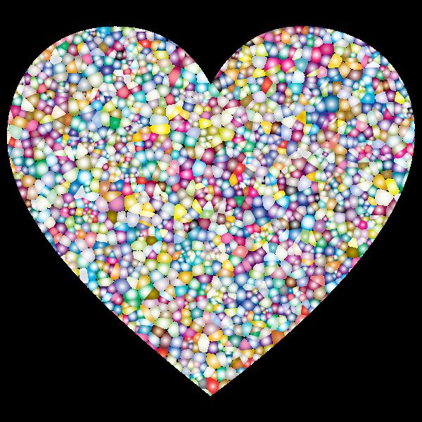 Sweet Tiled Heart
