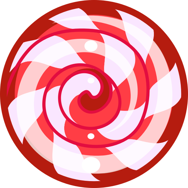 Red sweet candy