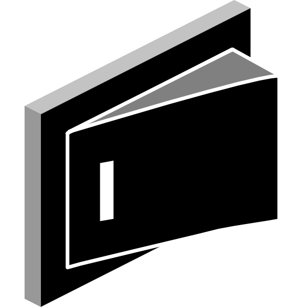 Switch OFF button vector clip art