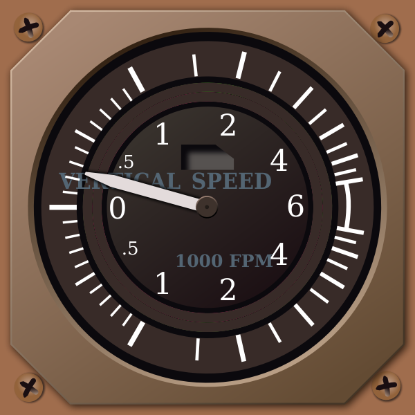Speed indicator vector