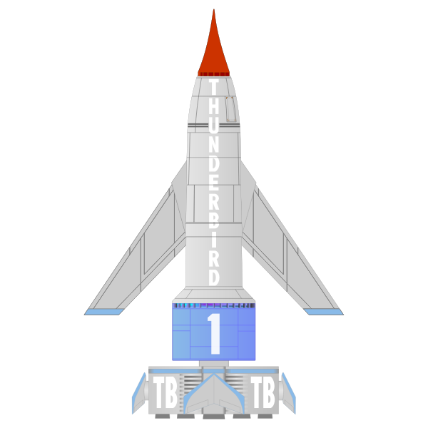 Thunderbird rocket