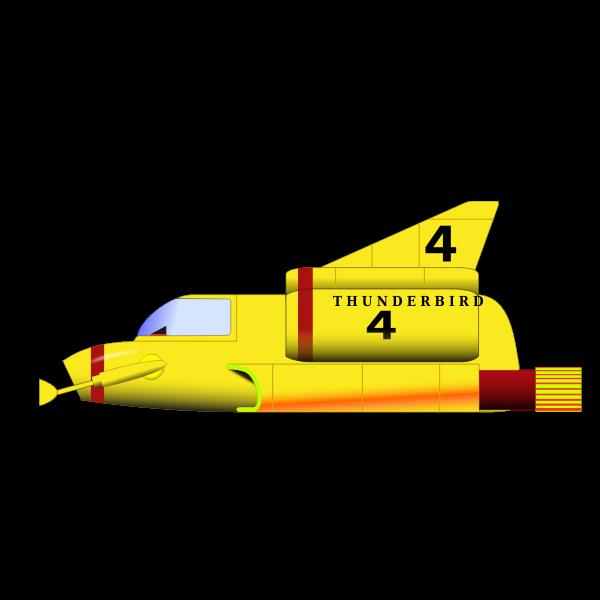 Thunderbird 4 military aircraft