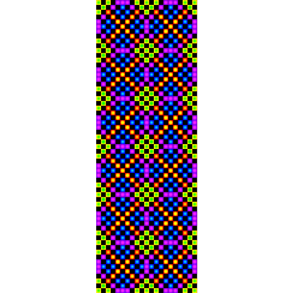 TILE Border colorful