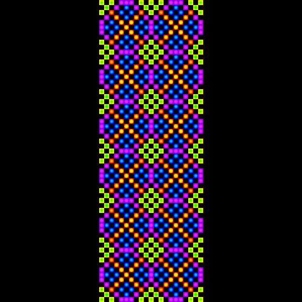 TILE Border colorful