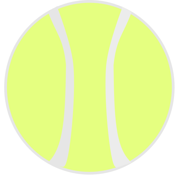 Tennis ball clip art graphics