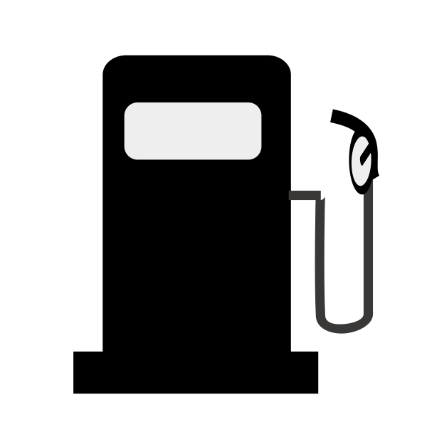 Petrol pump TSD vector sign
