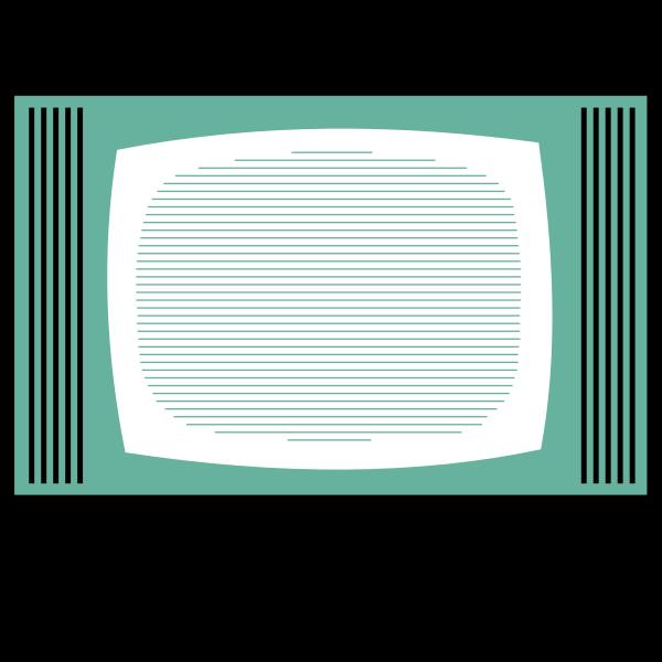 TV set vector illustration
