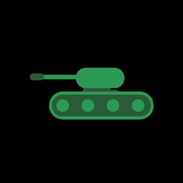 Little green tank