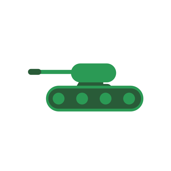 Little green tank