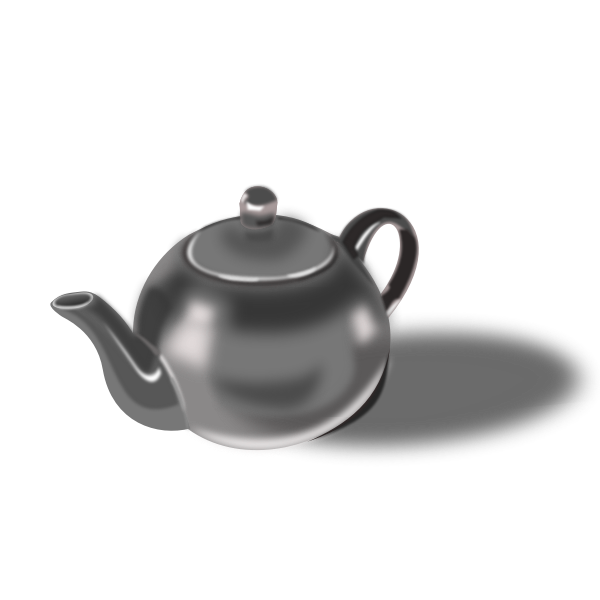 Tea pot vector illustration