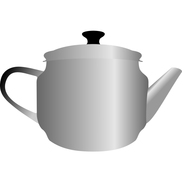 Tea pot vector image