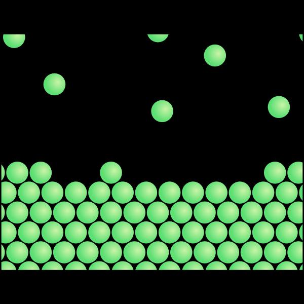 Random particles