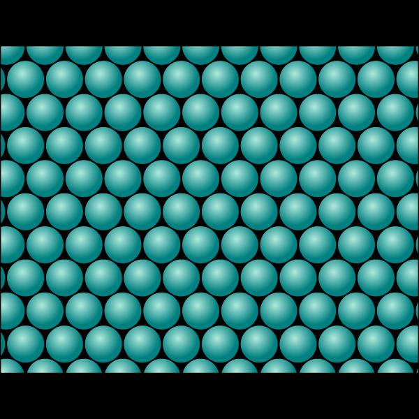 Teal circles pattern
