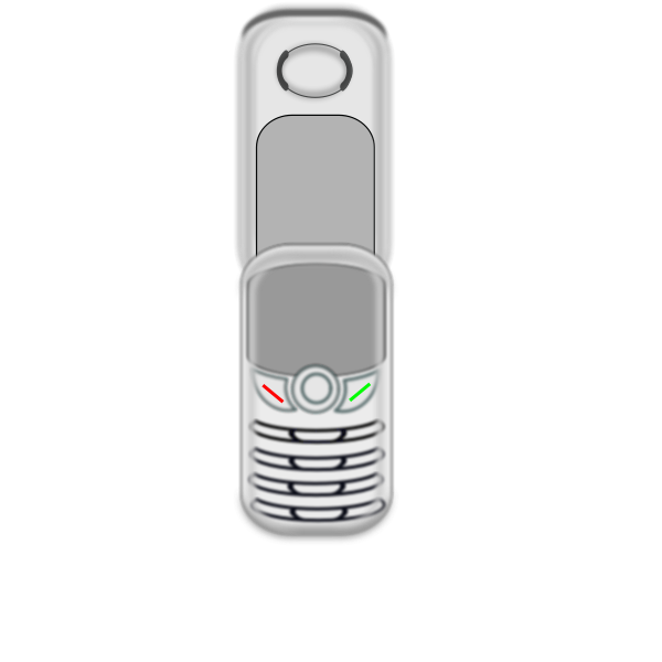 Mobile phone vector graphics