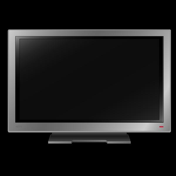 High definition TV set vector image