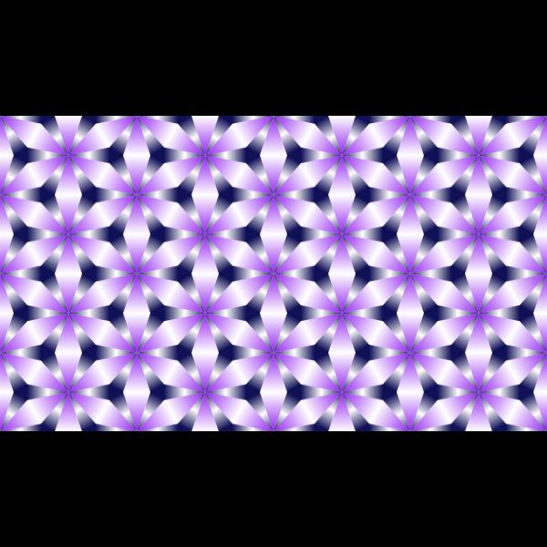Tessellation Pattern Purple Color