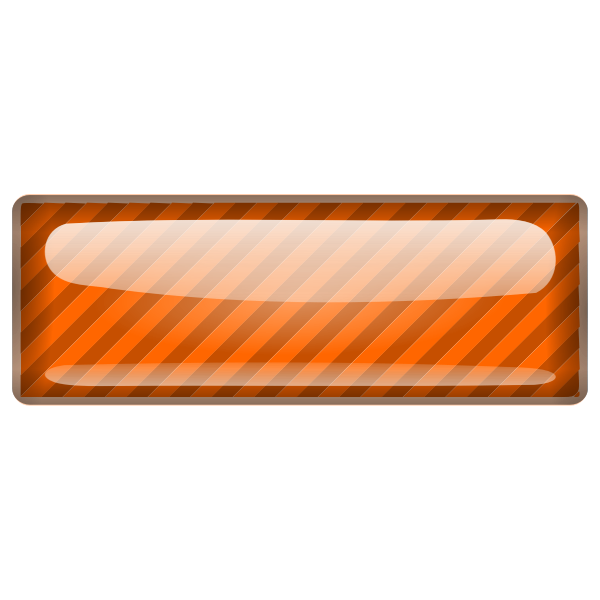 Stripped orange square vector clip art