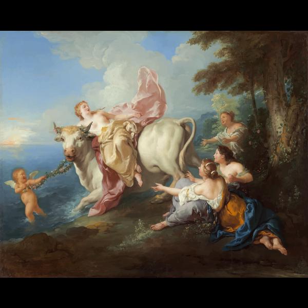 The Abduction of Europa Jean Francois de Troy