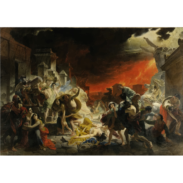 The Last Day Of Pompeii Karl Brullov