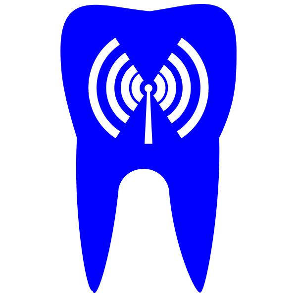 Blue tooth vector icon