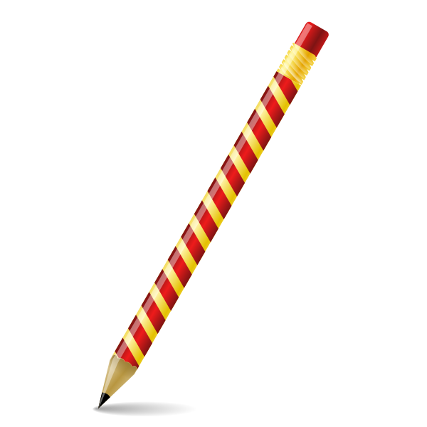 Pencil vector clip art