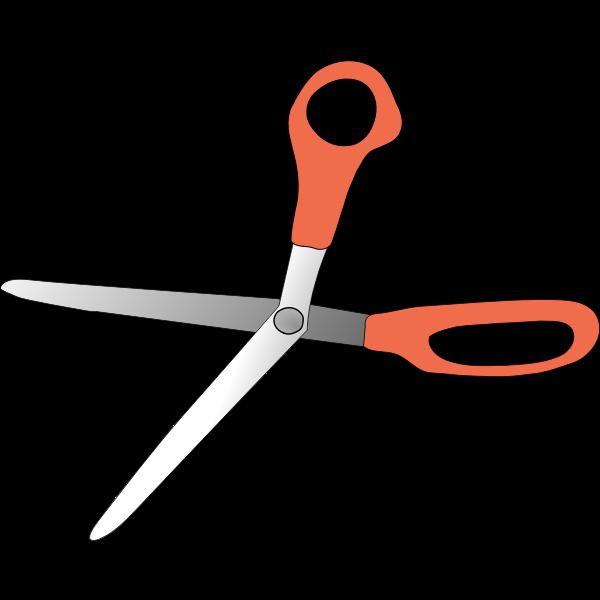 scissors wide open
