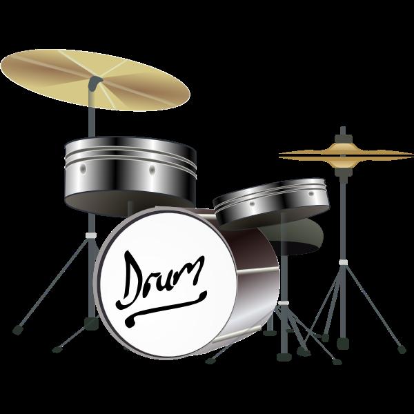 Drum Kit Vector Graphics