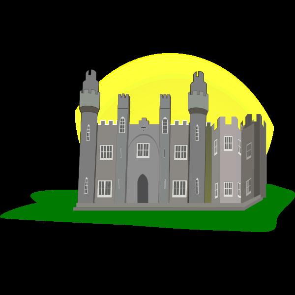 Castle vector graphics