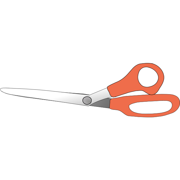 Scissors vector clip art