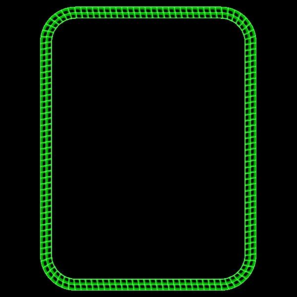3D Grid Border