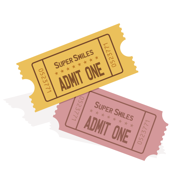Event tickets vector image