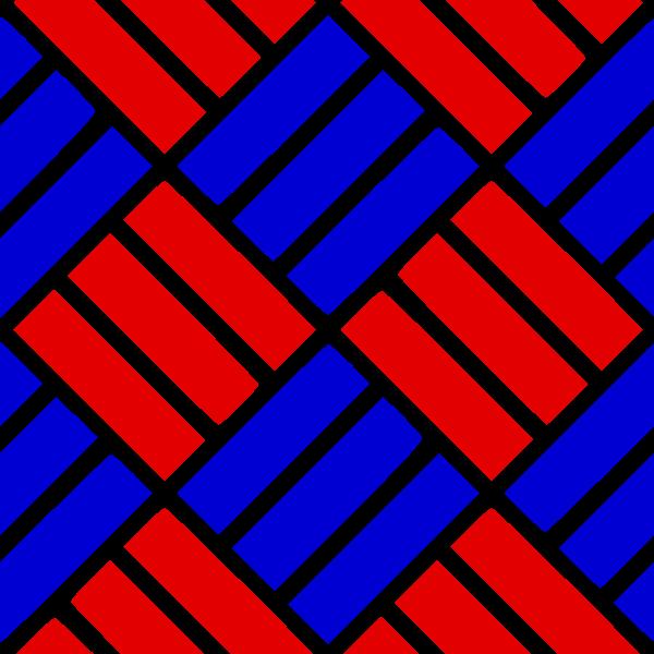 Alternating Tile Pattern colorized