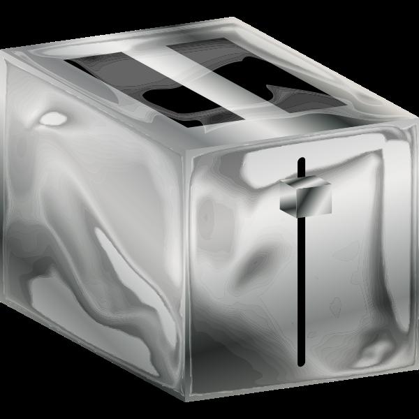 Metal toaster