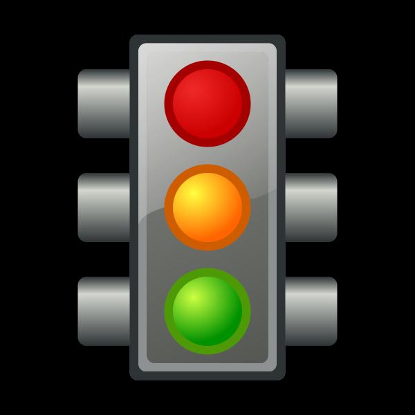 Traffic light vector graphics