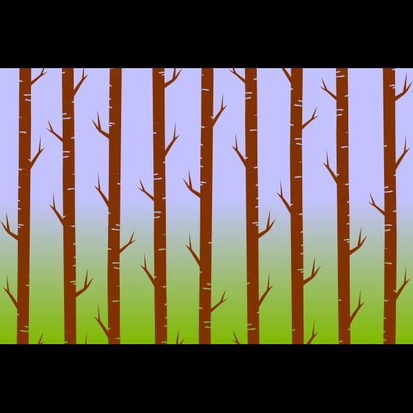 Tree trunk pattern