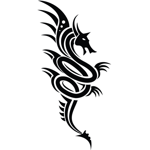 Dragon symbol image