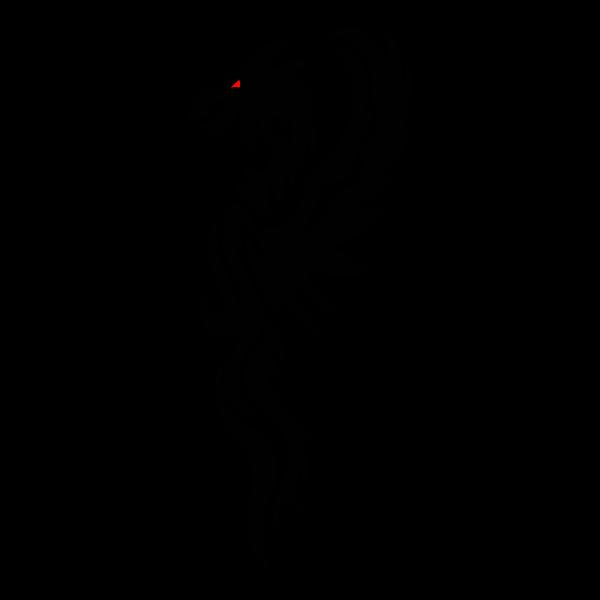 Red-eyed beast