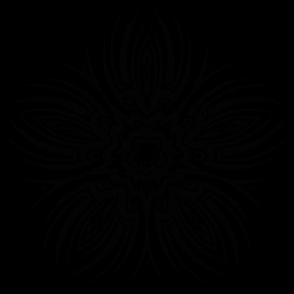 Tribal Flower 5