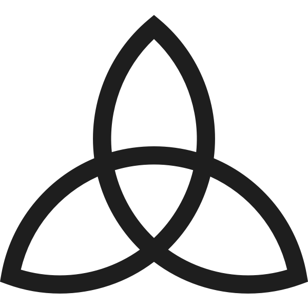 Triquetra drawing