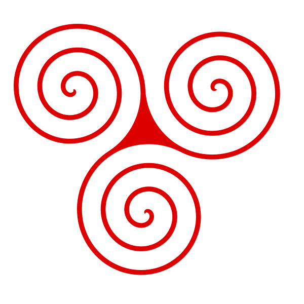 Triskelion Path Animation