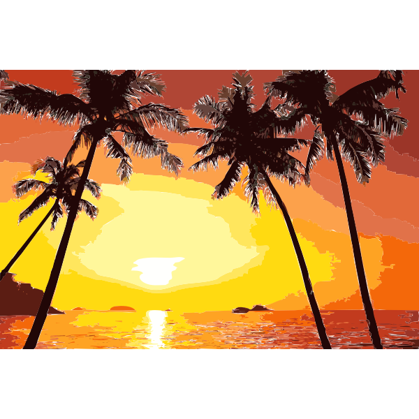 Tropical Sunset 2015052056