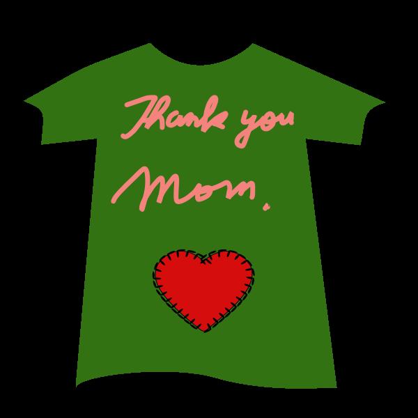 Thank you mum T-shirt