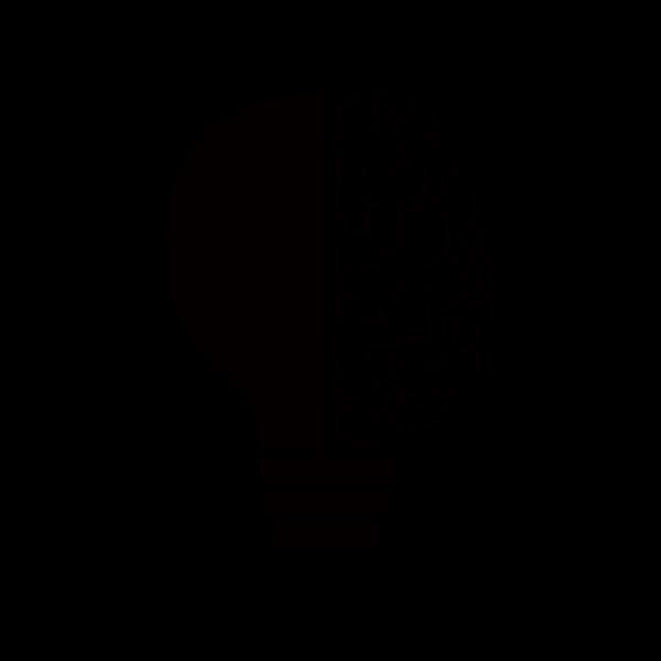 Double head silhouette