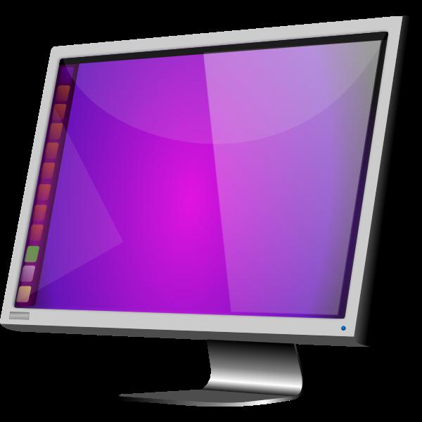 Ubuntu LCD by Merlin2525