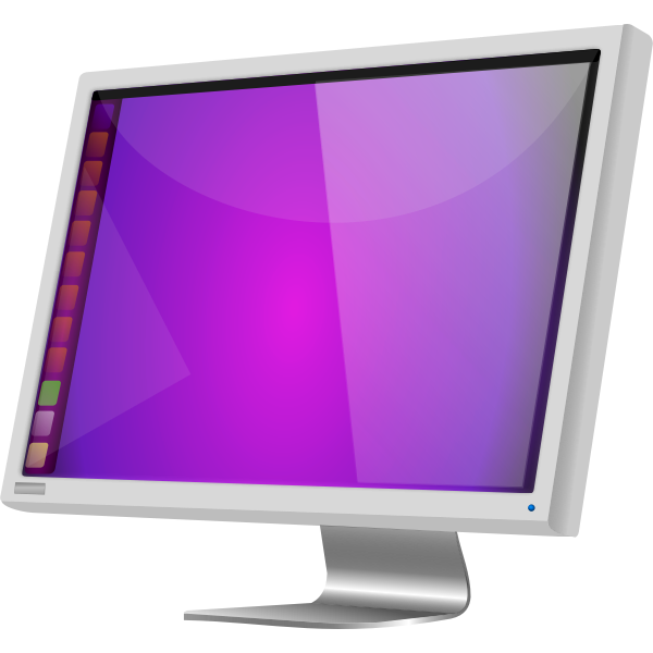 Ubuntu LCD by Merlin2525