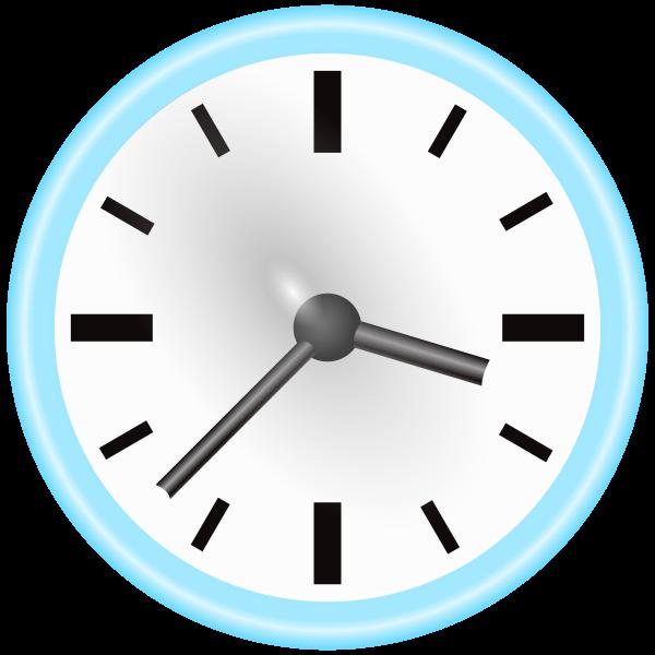Manual clock vector graphics