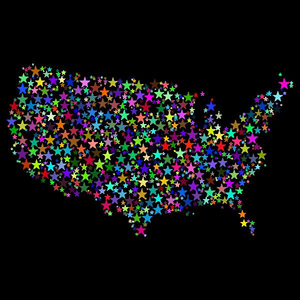 Prismatic US map